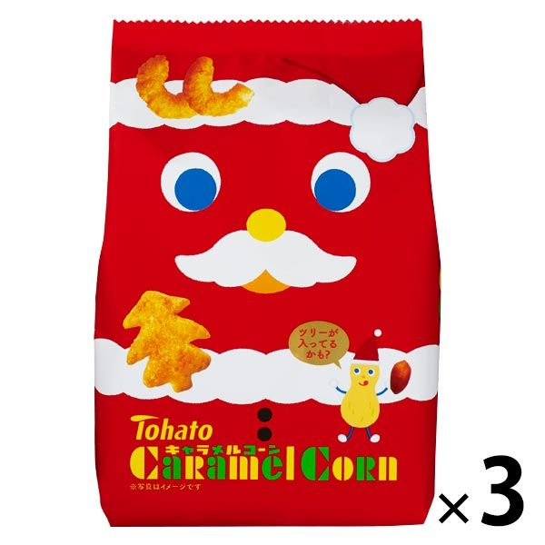 キャラメルコーン(クリスマス) 6袋