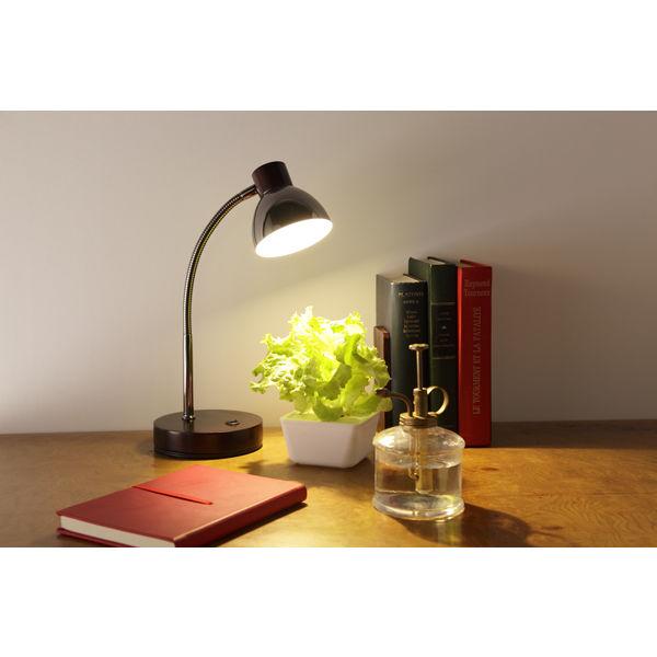オリンピア照明 LEDテーブルランプ茶