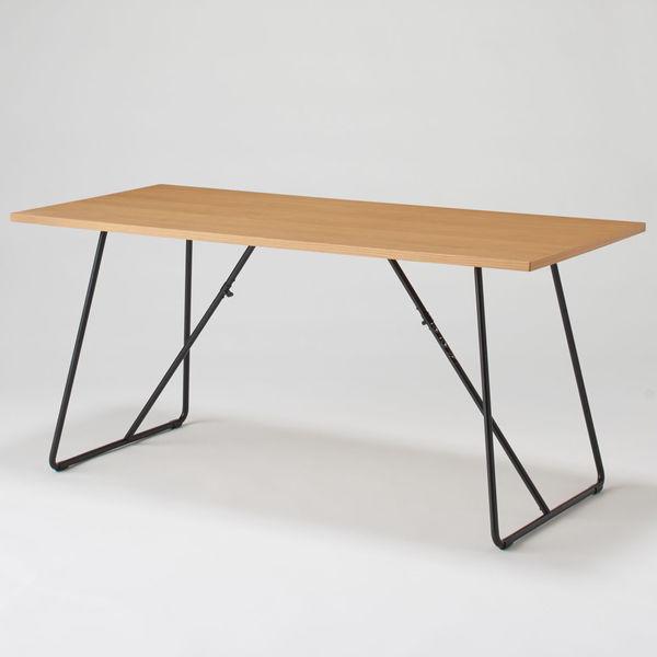 無印良品「折りたたみテーブル オーク材」