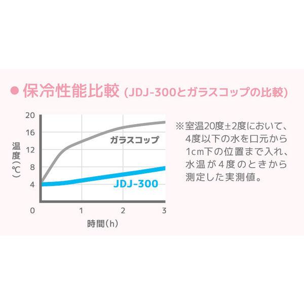 保冷ストローカップJDJ-300WH W
