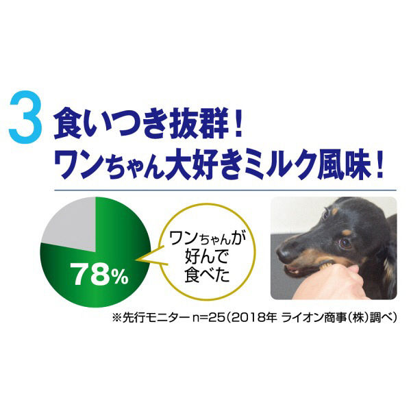 ペットキッス食後の歯みがきガム超小型犬用