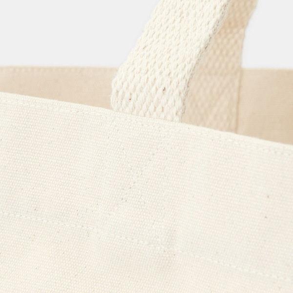 無印 インド綿横型マイトートバッグ 生成
