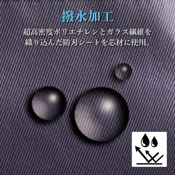 エレコム ショルダーポーチ/防刃/撥水加工/隠しファスナー/ESCODE/ナイトブラック BMA-ESSC01BK 1個(直送品)