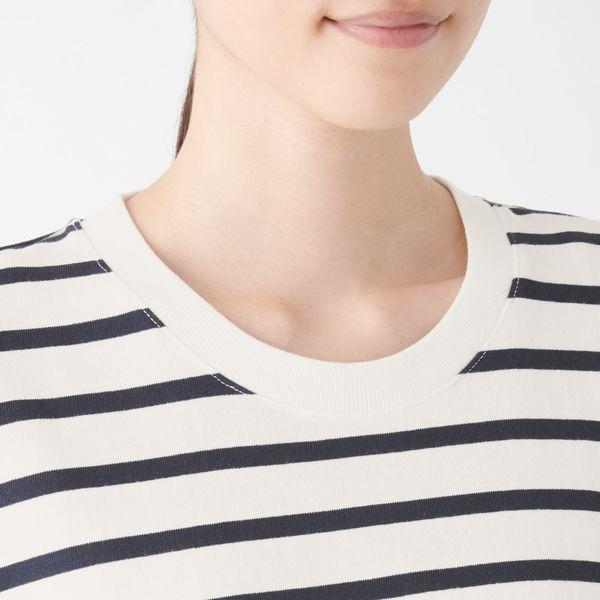 e1493f9a879 LOHACO - 無印良品 太番手天竺編み半袖フレアロングワンピース 婦人XS~S ...