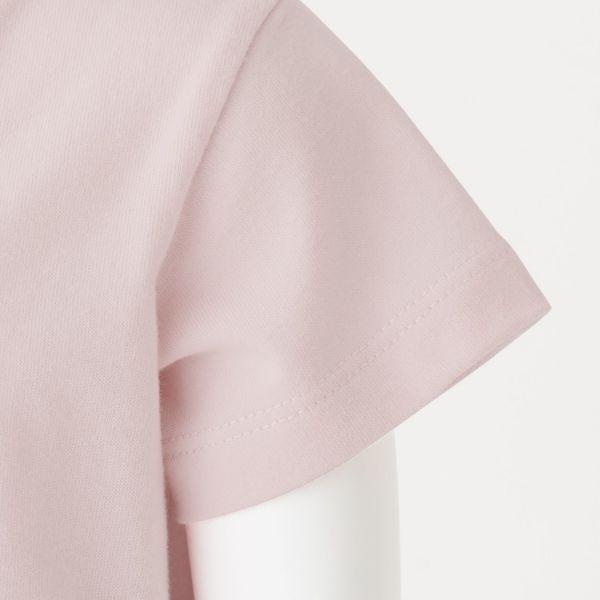 無印 天竺編みプリントTシャツ 80