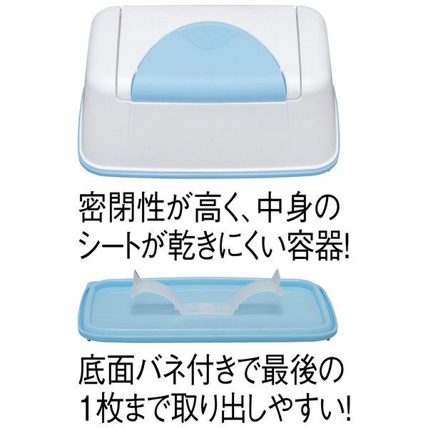 アイリスオーヤマ OA機器 液晶画面 両用 除菌クリーナー ケース本体+シート(40枚) OWT-NC40 1セット(3個)