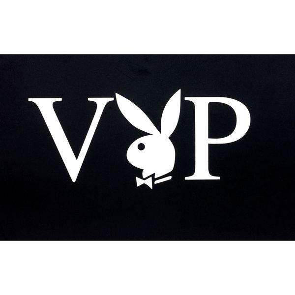 M 白 紳士VIP天竺半袖V首Tシャツ
