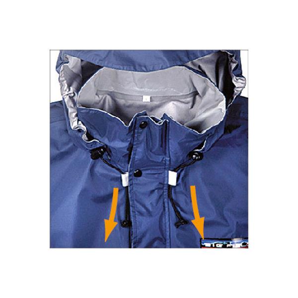カジメイク スリーレイヤースーツ L ネイビー 7700-L-ネイビー(取寄品)