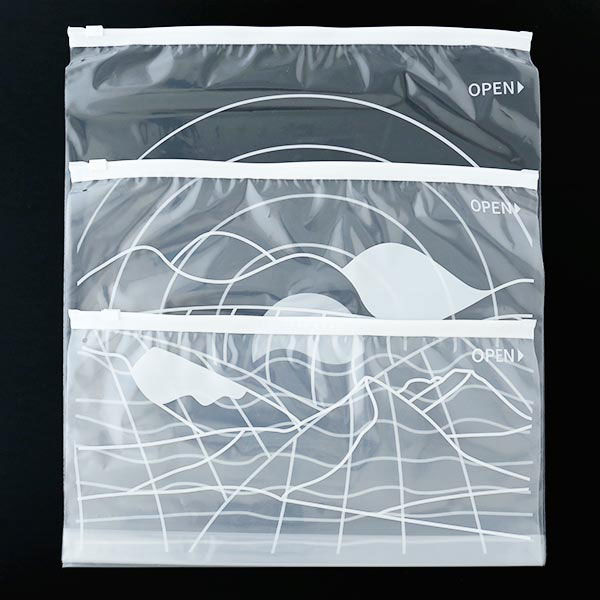 収納袋 スライダータイプ ワイド 3L