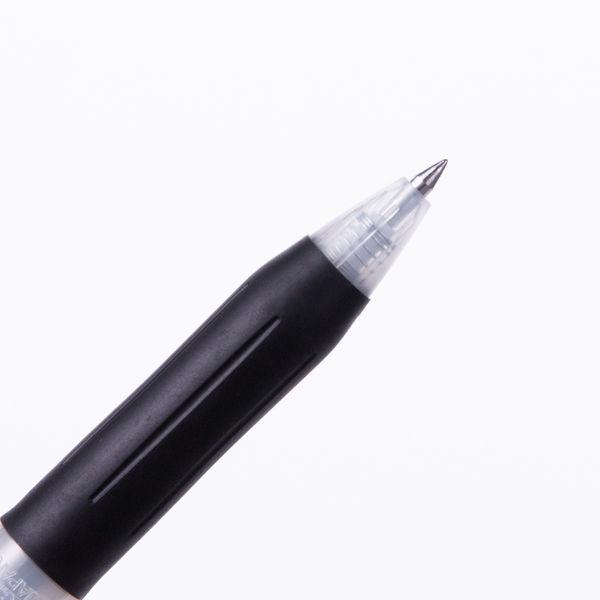 ノック式ゲルボールペン0.4 黒 10本