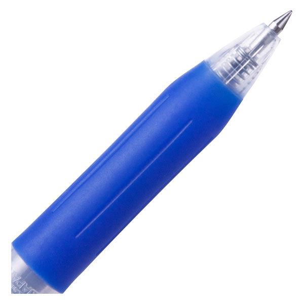 アスクル ノック式ゲルインクボールペン 0.5mm 青 30本