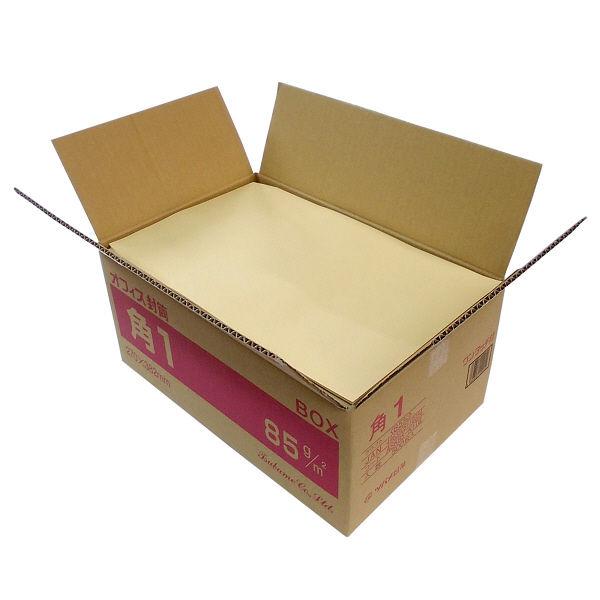 ツバメ工業 ワンタッチ封筒 テープ付 角1 500枚