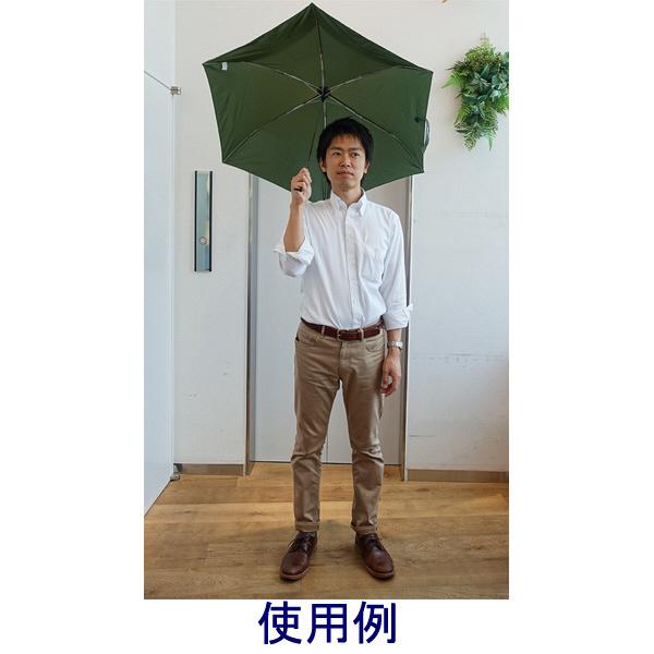 ウォーターフロント 雨傘 親骨55cm