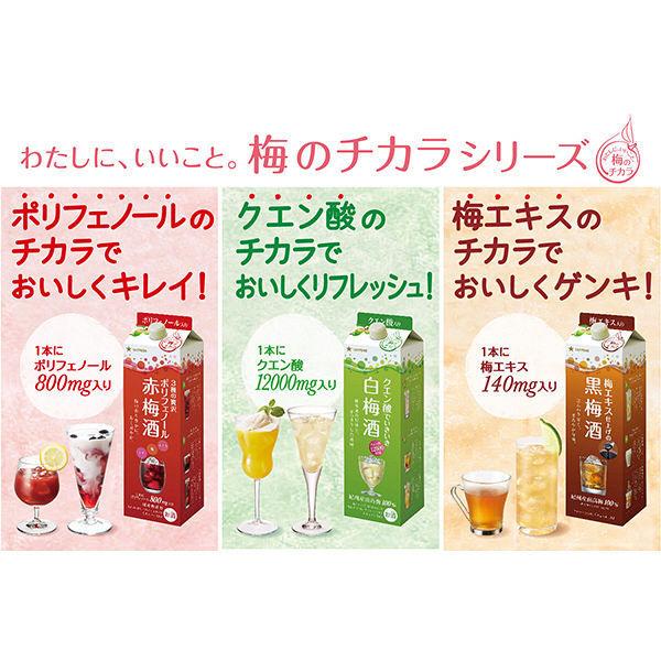 赤梅酒 贅沢ポリフェノール 1.8L