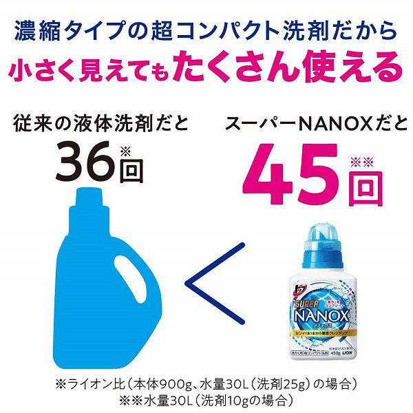 スーパーナノックス本体+詰替超特大