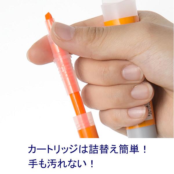 ゼブラ 蛍光オプテックス1 オレンジ
