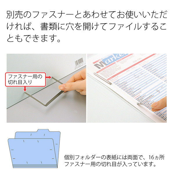 プラス 個別フォルダーA4 ロイヤルブルー FL-061IF 87061 1箱(100枚)