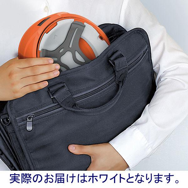 谷沢製作所 防災用ヘルメット Crubo ホワイト ST#-E041(W-01) 1セット(10個)