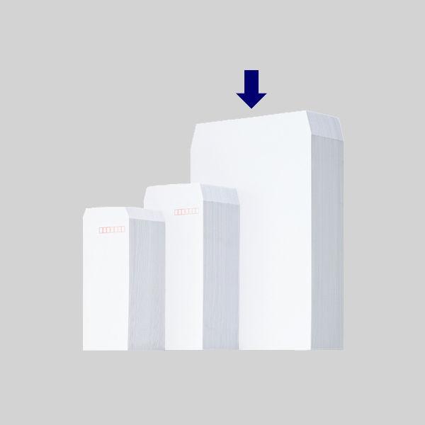 ムトウユニパック ケント紙封筒 テープ付 角2(A4) 500枚