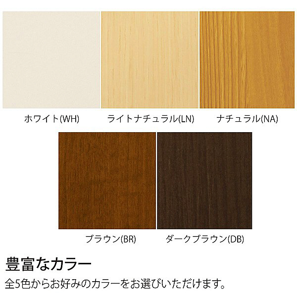 大洋 Shelfit(シェルフィット) エースラック/カラーラックS 幅300×奥行190×高さ1170mm ブラウン 1台 (取寄品)