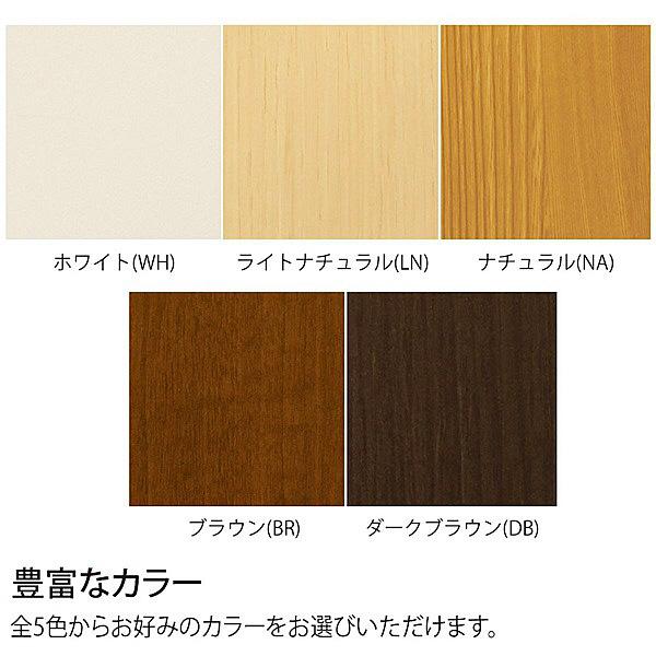 大洋 Shelfit(シェルフィット) エースラック/カラーラックS 幅400×奥行190×高さ1170mm ブラウン 1台 (取寄品)