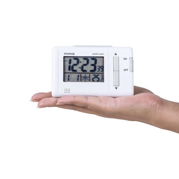 ノア精密 電波時計:ファルツ カートン T-692 WH-Z