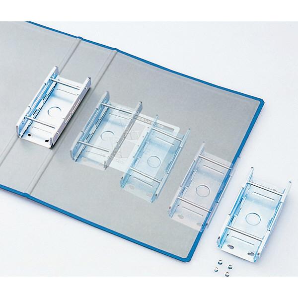 キングファイル スーパードッチ A4タテ とじ厚50mm 10冊 青 キングジム 両開きパイプファイル 1475アオ