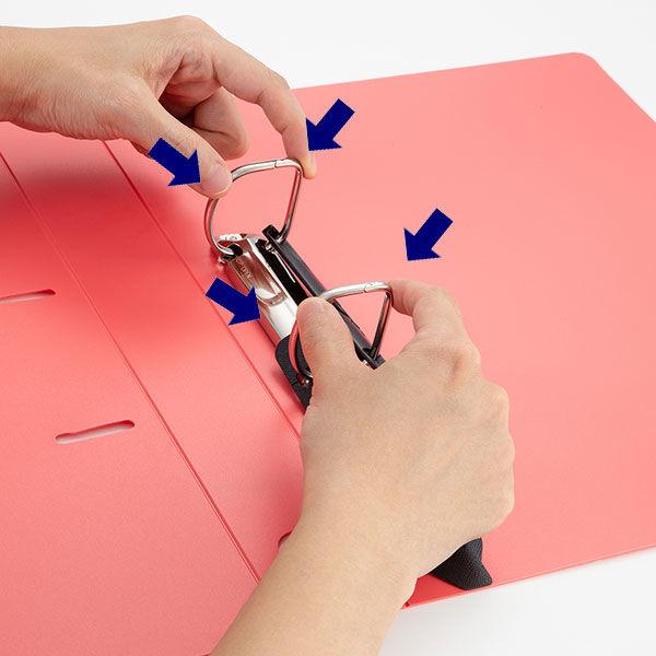 D型リングファイルA4 背幅47mm