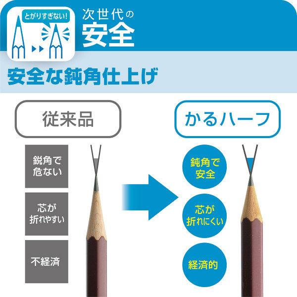 手動鉛筆削り かるハーフ 青
