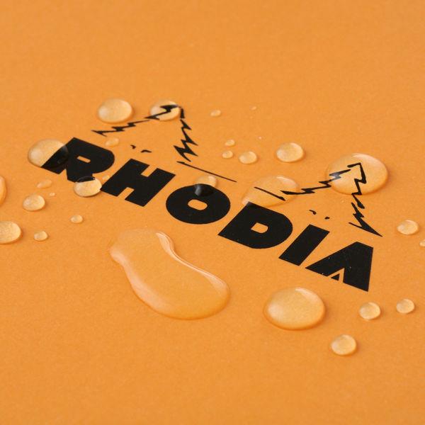 ロディア NO.16 方眼 オレンジ