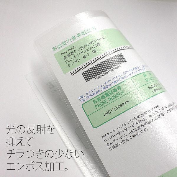 プラス フィルムホルダー A4 クリアー FL-160HO-10 1パック(10枚入)(直送品)