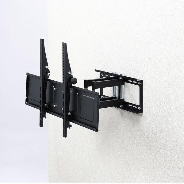 サンワサプライ 液晶・プラズマディスプレイ用アーム式壁掛け金具 CR-PLKG9 1台 (直送品)