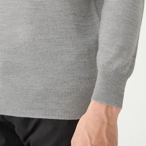 洗えるハイゲージセーター 紳士L