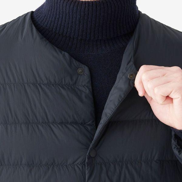 ポケッタブルノーカラージャケット 紳士M