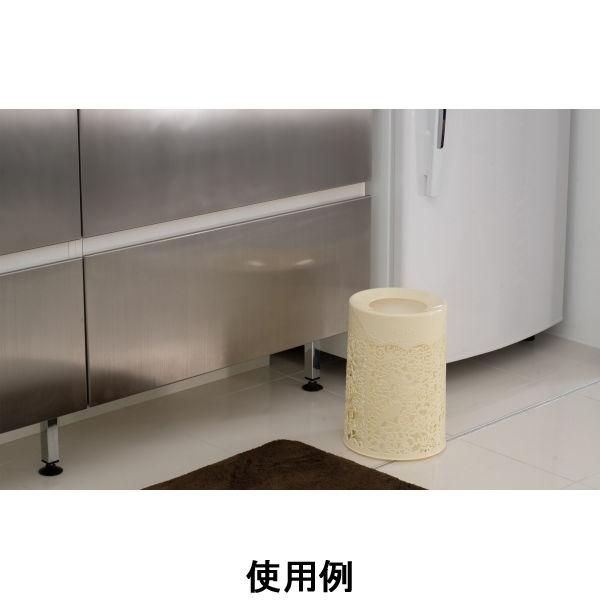 トラッシュボックスゴミ箱クリームホワイト