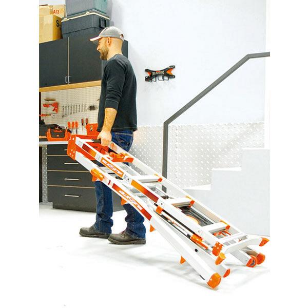 Hasegawa(長谷川工業) はしご アルミ合金 多機能兼用脚立 セレクトステップ 5段 (5尺 230cm) LG-15125 1台 (直送品)