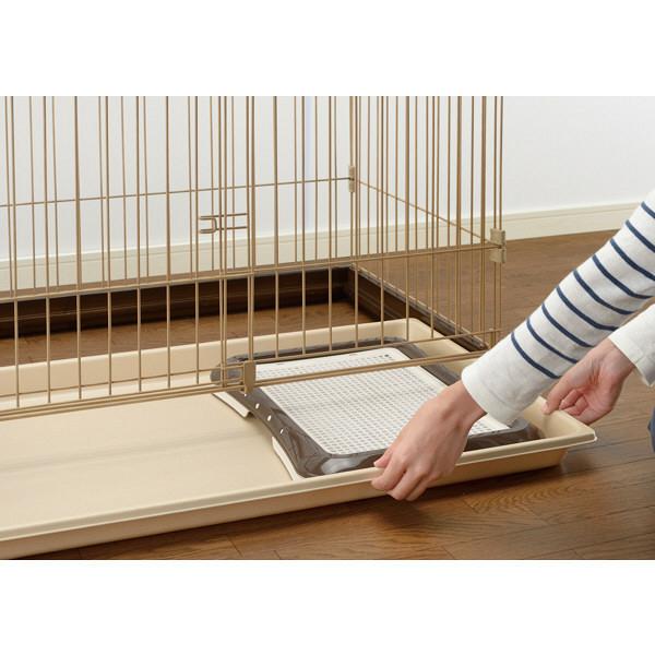 木製お掃除簡単ペットサークル150-80