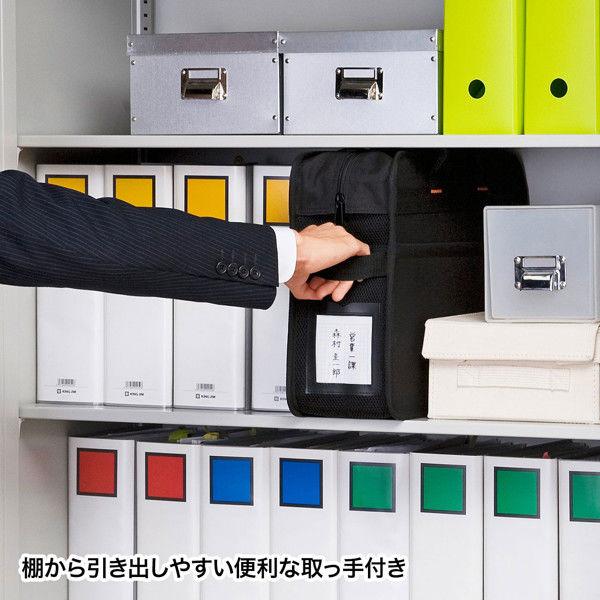 サンワサプライ らくらくPCキャリーL(鍵付き) BAG-BOX2BK2 1個 (直送品)