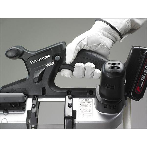 パナソニック Panasonic 【DUAL】 充電バンドソー 本体のみ ブラック EZ45A5X-B (直送品)
