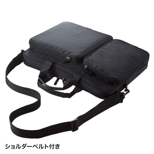 サンワサプライ 衝撃吸収PCケース ブラック/15.6インチワイドまで対応 BAG-P22BK (直送品)
