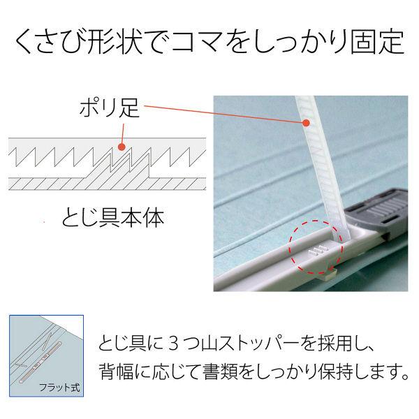 プラス フラットファイルB5E縦罫線タイプRBL 98261 (直送品)