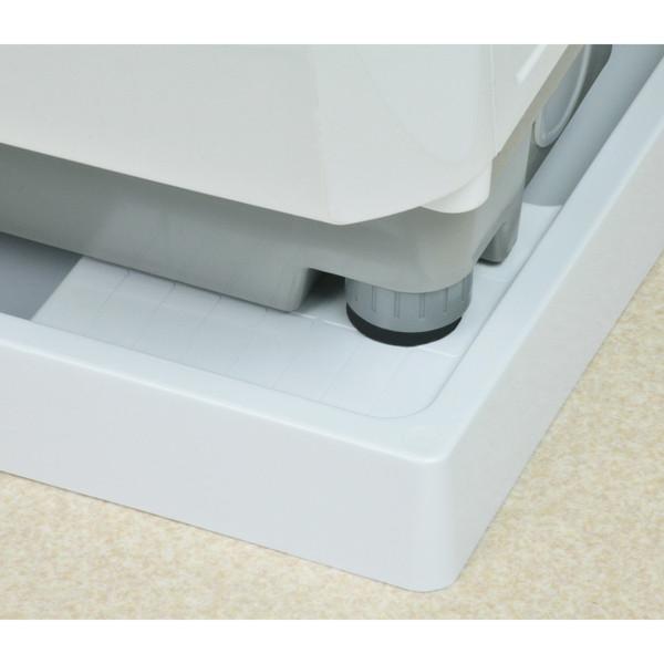 ガオナ 洗濯機用防水パン 640×640mm (水滴から守る 取付簡単) GA-LF009 (直送品)