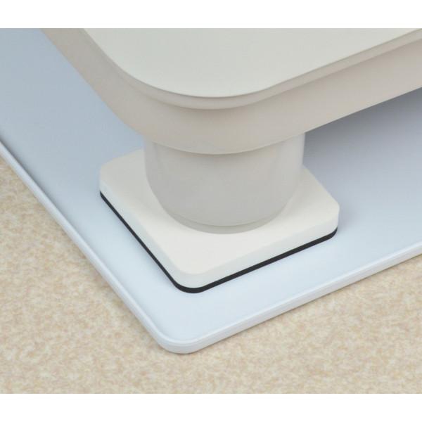 ガオナ 洗濯機用トレーと防振パッドのセット 全自動用 (水滴から守る 振動軽減 570×570mm 置くだけ簡単) GA-LF011 (直送品)