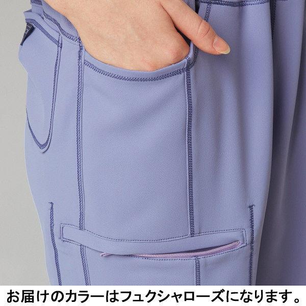 フォーク CHEROKEE(チェロキー) 医療白衣 パンツ CH351 フュクシャ・ローズ S 1枚 (直送品)