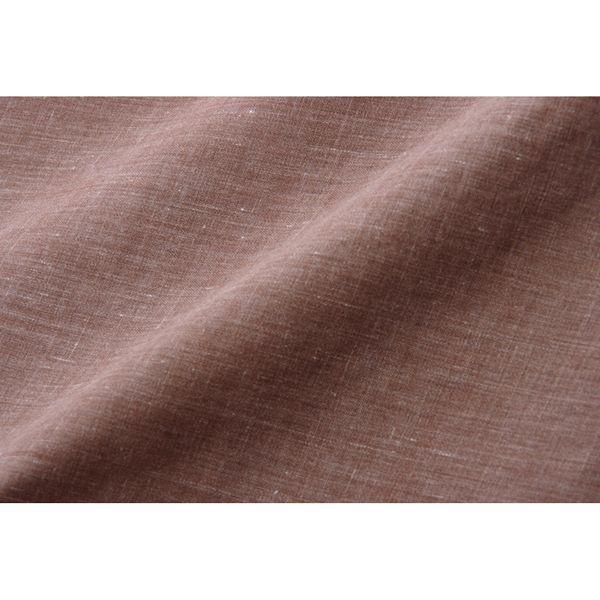 イケヒコ 洗える こたつ掛けカバー アトリエ 幅1950×奥行1950mm ブラウン 5005309 1枚(直送品)