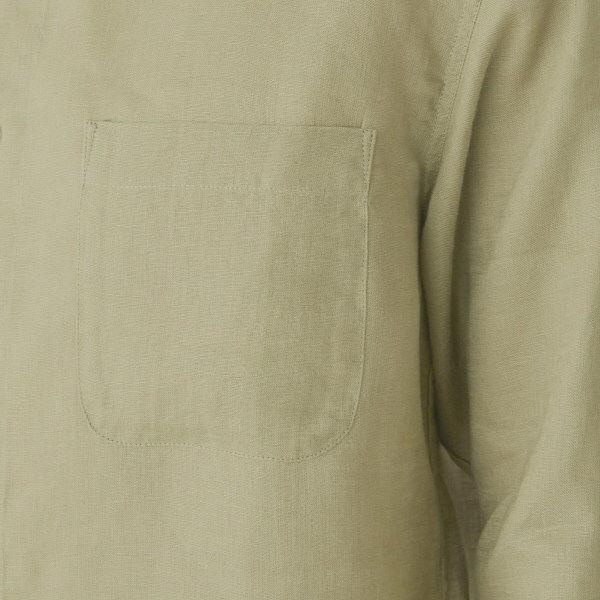 無印 フレンチリネンシャツ 紳士 S