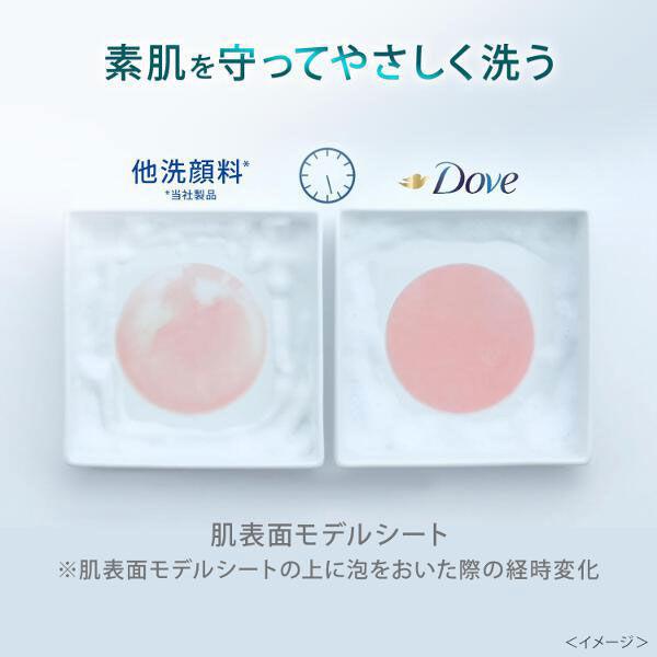 ダヴ 敏感肌用 クリーミー泡洗顔料