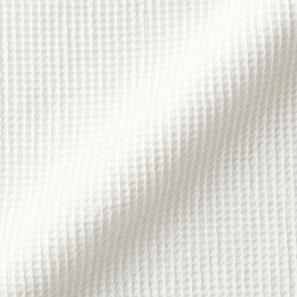 無印 ワッフル織り半袖パジャマ 婦人 M