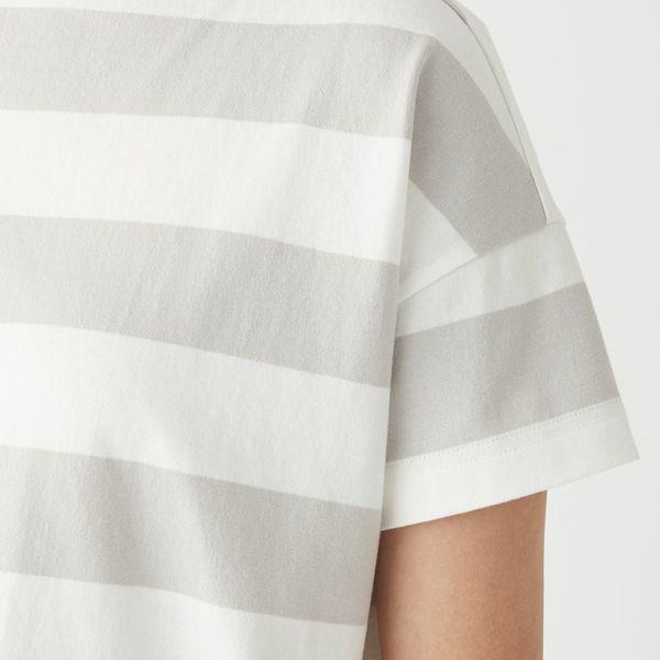 ボートネックワイドTシャツ M~L