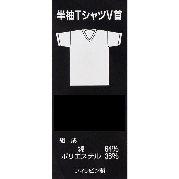 VIP半袖Tシャツ V首 LL ブラック